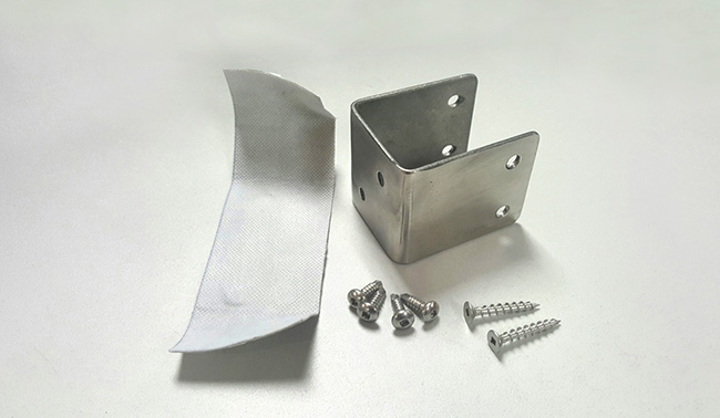 U Saddle Bracket & Screws